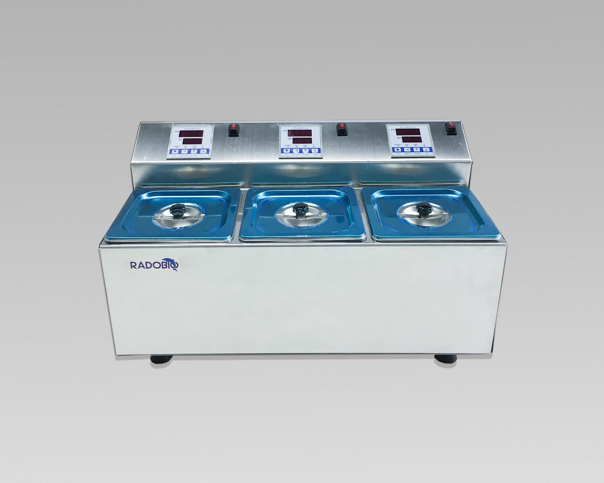 CTbath  304全不锈钢三孔电热恒温水浴锅